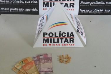 Autor de tráfico de drogas é preso pela Polícia Militar em Mariana