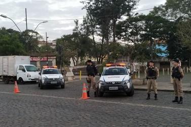 PM reforça patrulhamento em pontos de Mariana nesta semana
