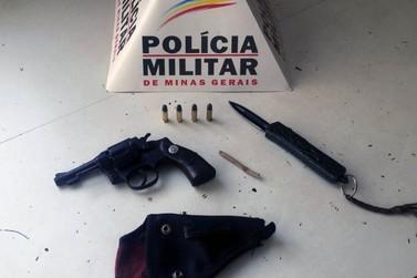 Polícia Militar prende homem por posse ilegal de arma de fogo em Mariana