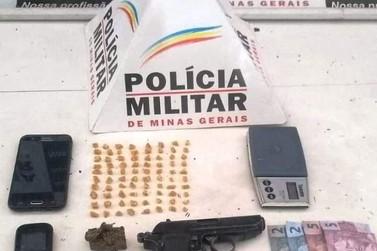 Suspeito por tráfico de drogas é preso no bairro Cabanas