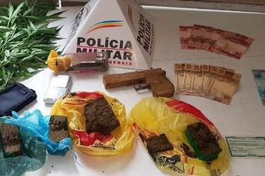 Traficante é preso pela Polícia Militar em Mariana