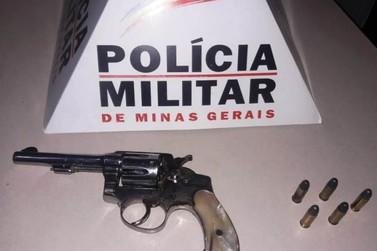 Homem é preso por porte ilegal de arma de fogo em Mariana