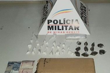 Menor é apreendida pela Polícia Militar por tráfico de drogas em Mariana