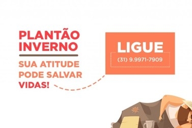 """""""Plantão Inverno"""" busca ajudar moradores de rua de Mariana"""