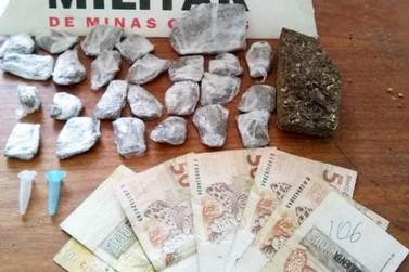 Polícia Militar prende traficante em Diogo de Vasconcelos (MG)