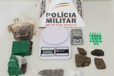 Polícia Militar apreende material ilícito em Mariana