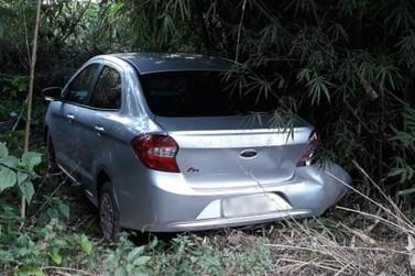 Polícia Militar recupera em distrito de Mariana veículo roubado em Contagem