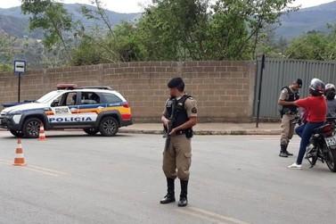 Homem é preso durante Operação Preventiva do 52º Batalhão da PM em Mariana