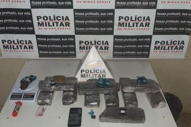 Ocorrências de tráfico de drogas são atendidas pela Polícia Militar