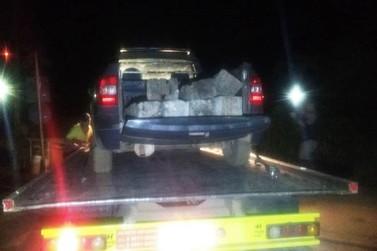 Polícia Militar evita furto de dormentes de ferrovia em Passagem de Mariana