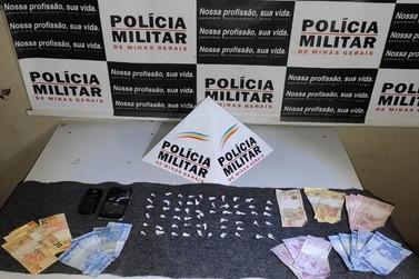 Autores de tráfico de drogas são presos em Mariana