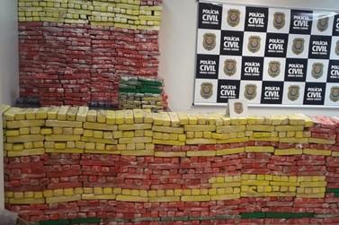 Polícia Civil apreende uma tonelada de maconha que teria como destino Ouro Preto