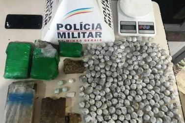 Polícia Militar apreende grande quantidade de maconha em Ouro Preto