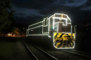 Trem da Vale tem programação especial durante o mês de dezembro