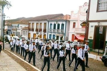 Banda na Praça retorna neste domingo, 26, em Mariana