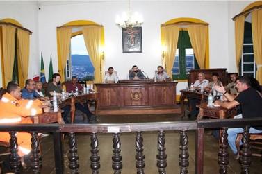 Câmara de Mariana discute controle de ruídos e sons na cidade