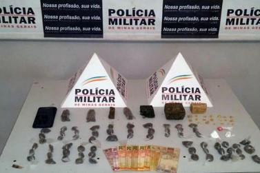 Polícia Militar prende dois autores de tráfico de drogas em Mariana