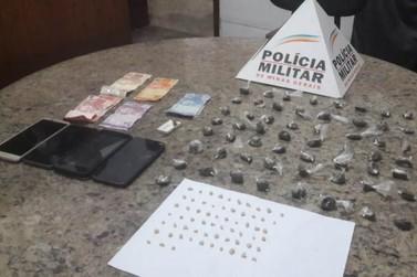 Polícia Militar realiza prisões e apreensões por tráfico de drogas em Mariana