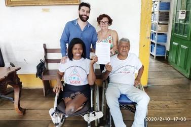 Lei declara de utilidade pública a Associação de Pessoas com Deficiência