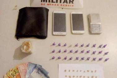 Polícia Militar prende dois traficantes de drogas em Mariana