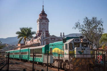 Trem da Vale que liga Mariana e Ouro Preto terá marchinhas durante o carnaval