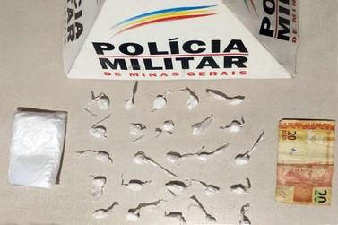 Polícia Militar prende traficante no bairro Cabanas