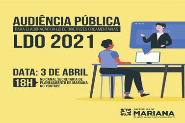 Prefeitura realiza audiência para elaboração do LDO 2021