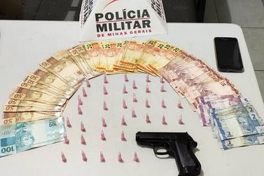 Polícia Militar prende traficante no bairro Santa Rita de Cássia, em Mariana