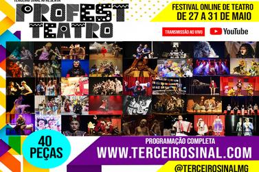 Festival Nacional de Teatro será online e exibirá espetáculos de todo do Brasil