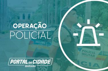 Operações policiais movimentam distritos de Ouro Preto
