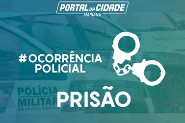 Polícia Militar prende autora de tráfico de drogas em Mariana