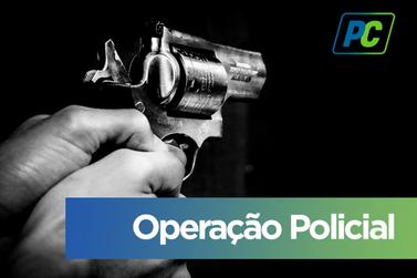 Polícia Militar prende homem por porte ilegal de arma de fogo em Mariana