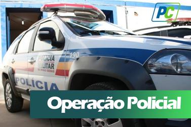 Polícia militar prende traficante e realiza apreensões durante operação
