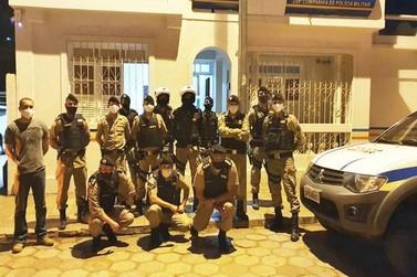 Comando da 3ª Região da PM visita cidades da área de atuação do 52º Batalhão