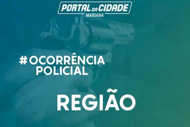 Polícia Militar apreende revólver em Cachoeira do Campo, distrito de Ouro Preto