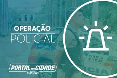 PM prende quatro pessoas por receptação de veículo roubado em Cachoeira do Campo