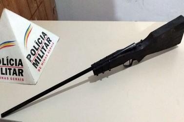 Polícia Militar apreende arma de fogo em Ouro Preto