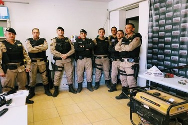 Polícia realiza prisão e recupera materiais roubados em Serra dos Cardosos