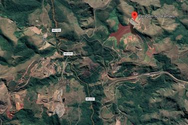 Rejeitos de Minério atingem Ribeirão do Mango, em Ouro Preto