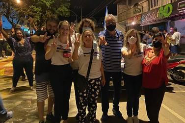 Celso Cota comemora vitória - veja imagens