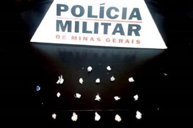 Polícia Militar prende traficante no Barro Preto, em Mariana