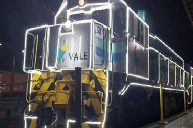 Trem da Vale promove natal virtual em Ouro Preto e Mariana