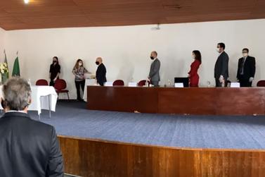 Vereadores eleitos em Mariana são diplomados pela Justiça Eleitoral