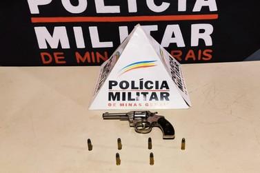 Arma de fogo é apreendida pela Polícia Militar em Mariana