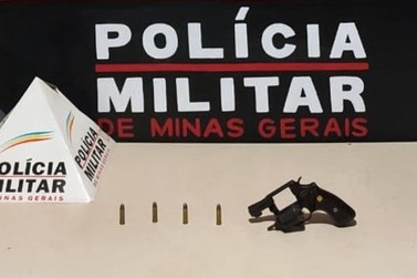 Em Mariana, homem é preso por porte ilegal de arma de fogo