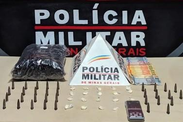 Casal é preso por tráfico de drogas no bairro São Sebastião, em Mariana