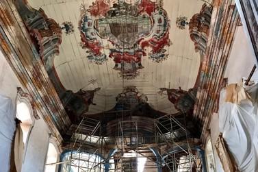 Elementos artísticos da Igreja São Francisco de Assis são restaurados