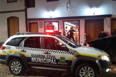 Órgãos de segurança intensificam as fiscalizações em Mariana na onda roxa
