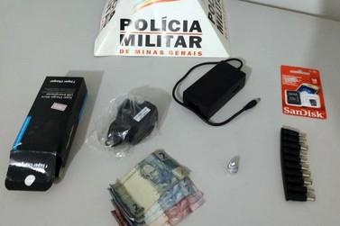 Polícia Militar prende autores de furto a loja do Barro Preto, em Mariana