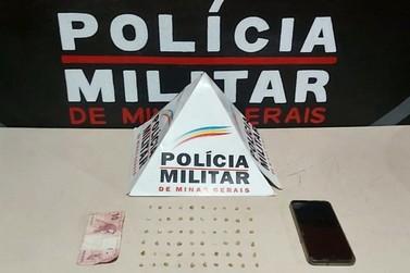 Polícia Militar prende traficante no bairro Santa Clara, em Mariana